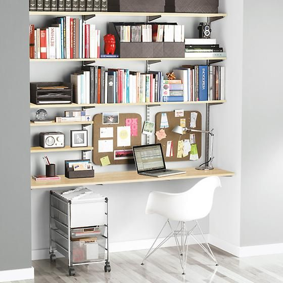 Office Wall Mounted Shelving Best 25 Home Shelves Ideas On Pinterest Furniture Inspiration Basement And Small Offices In Design