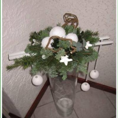 7 beste afbeeldingen over kerst op pinterest kerst plateaus en potten - Voorbeeld van decoratie ...