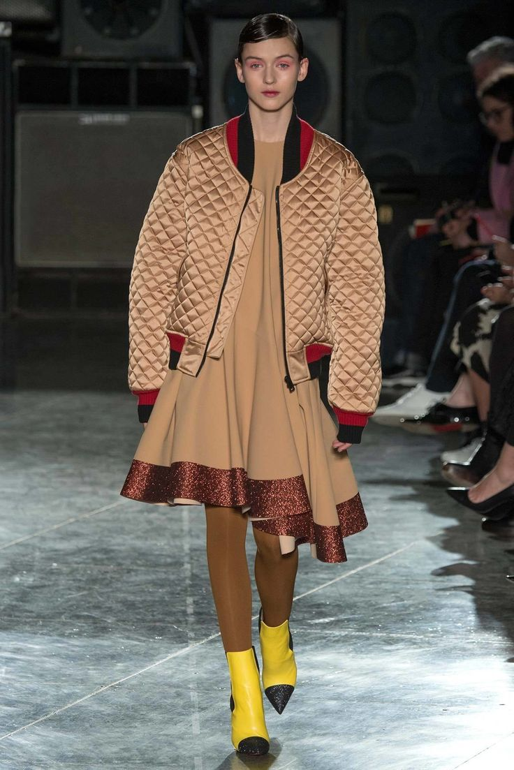 Jonathan Saunders Fall 2014 Ready-to-Wear Fashion Show - Gabby Westbrook-Patrick