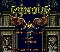 Sega 16bit MD карточные игры: Gynoug Для 16 бит Sega MegaDrive Genesis игровой консоли