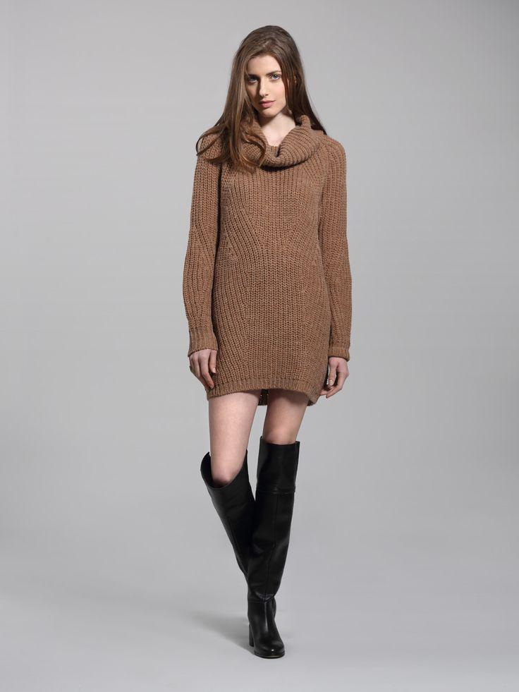 Left on Houston Jones sweater dress