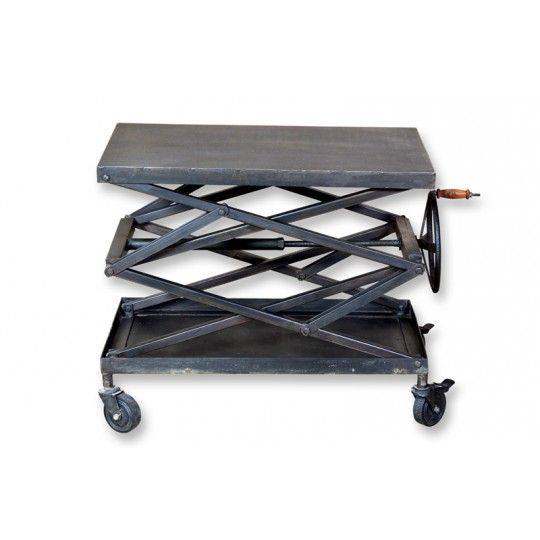 Industrial Lift Table, By CDI Furniture