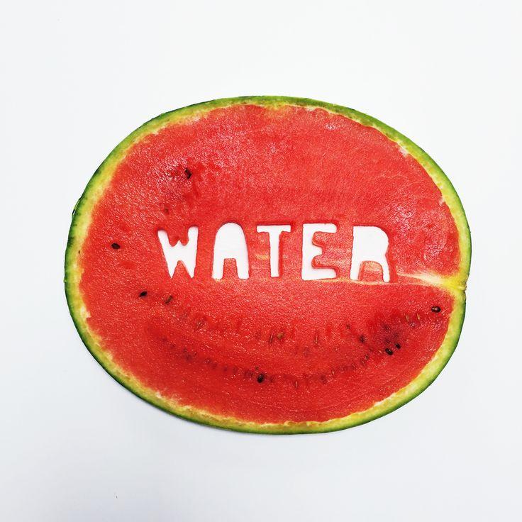 Watermelon Food Art From the PaintSewGlueChew instagram feed.