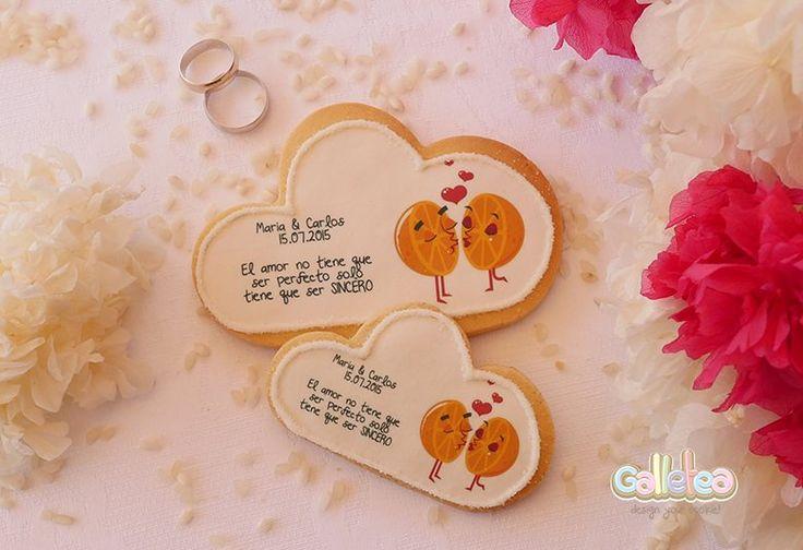 Galletas Personalizadas para bodas- ¡Descúbrelas!