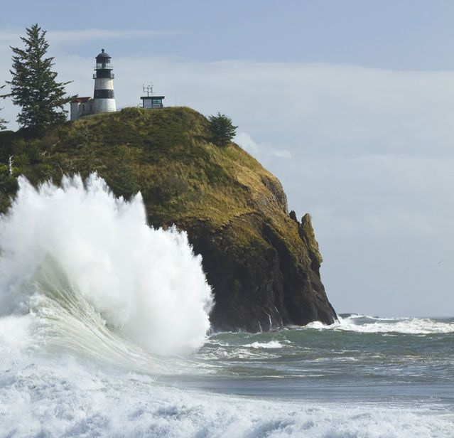 The Best Romantic Getaways in the Pacific Northwest: Cape Disappointment State Park, #Washington