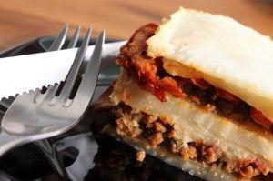 Recette paléo de lasagnes (sans gluten, sans produits laitiers)