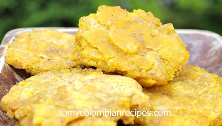 Patacones or Tostones recipe
