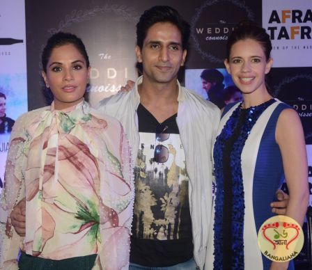 The Wedding Connoisseur- An Exclusive Wedding Fashion and Lifestyle Exhibition was inaugurated by Kalki Koechlin, Richa Chadha and Arslan Goni.