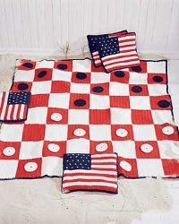 A Checkers Game Afghan | AllFreeCrochet.com