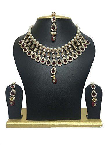 Bollywood style Most Elegant Kundan Maroon White Stones E... https://www.amazon.com/dp/B01J3EGPFC/ref=cm_sw_r_pi_dp_x_EuaTybMFEM07B