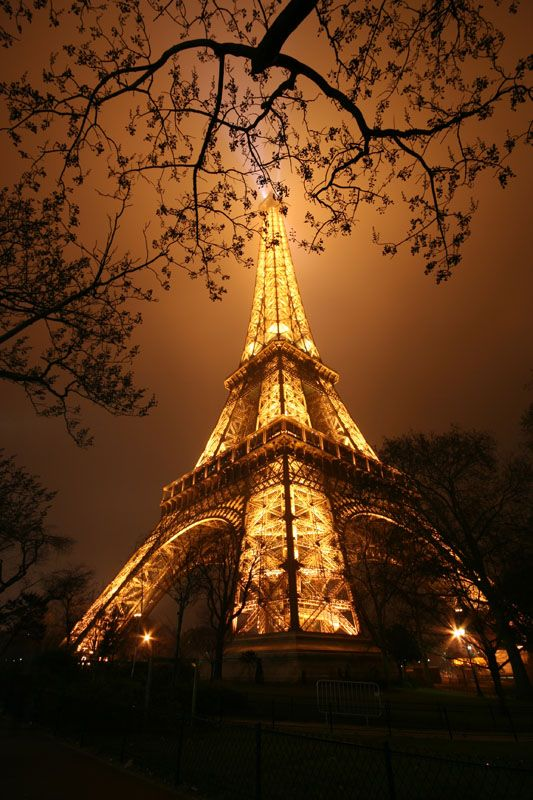 Eiffel Tower in Paris, France. If I only had a passport and a ton of money I would travel all over.