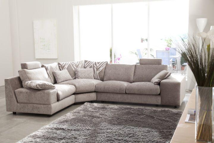 Sof modelo calisto de fama rinconera http sofaslasrozas for Sofa modular tela