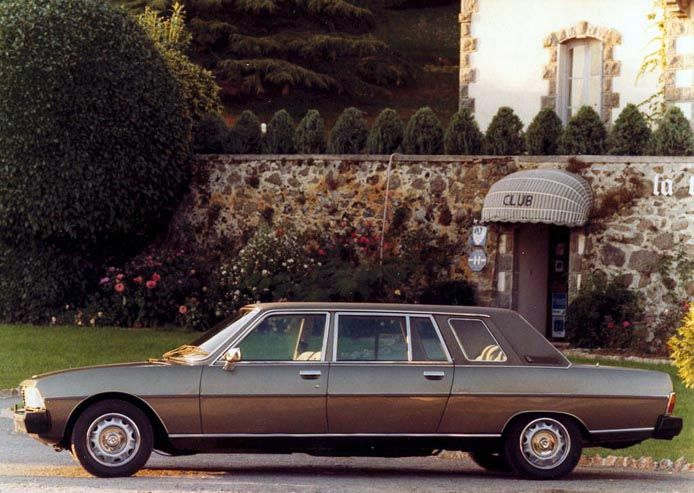 Peugeot 604 Limousine by Heuliez (1978-84)
