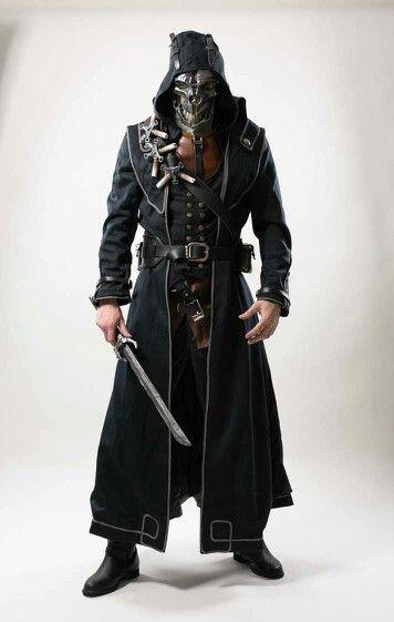 Corvo costume