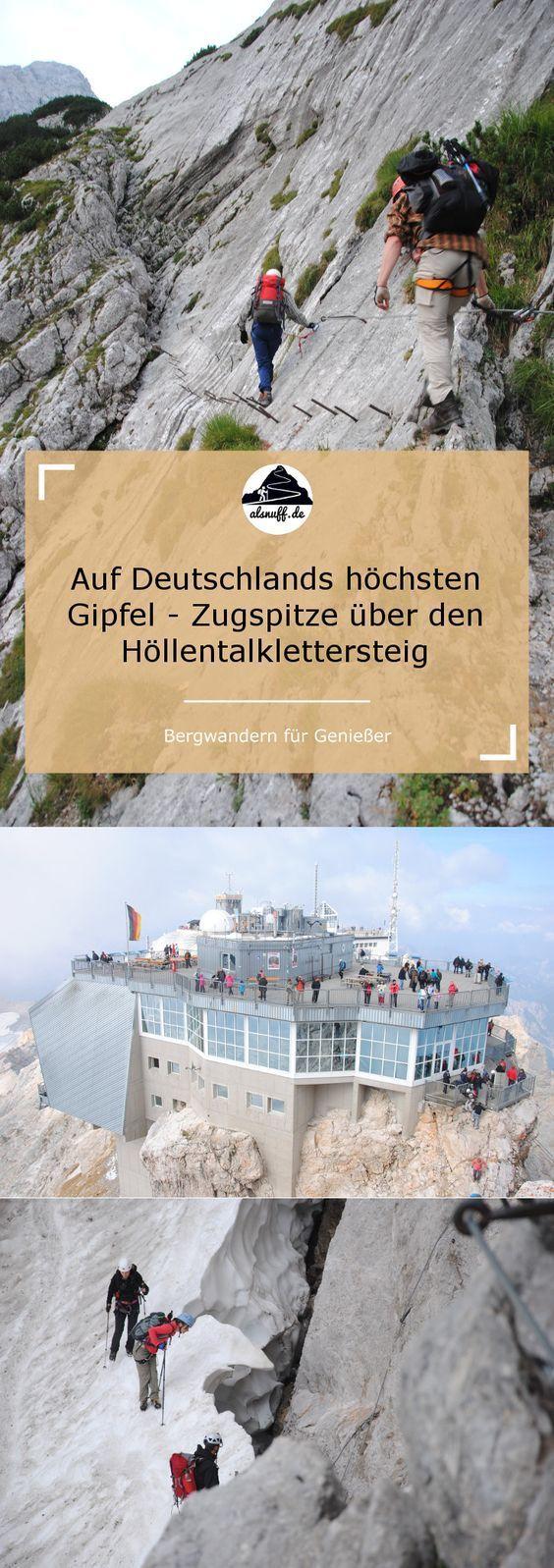 Auf den höchsten Berg Deutschlands – die Zugspitze – über den Höllentalklette… – lebedraussen! Weblog für Outdoor und Reise