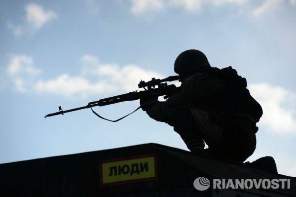 Spetsnaz sniper: Grozny.