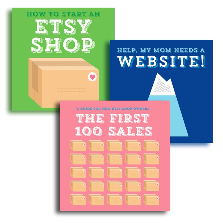 these three guides cover the mechanics of starting an etsy