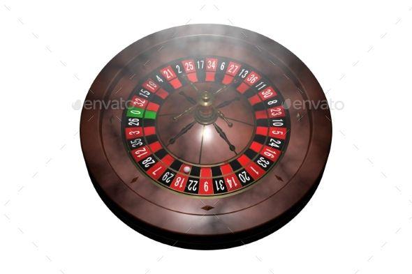 Casino Roulette Wheel 3d Render Roulette Wheel Roulette Graphic Design Templates