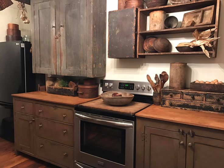 17 best ideas about primitive dining rooms on pinterest for Primitive country kitchen ideas