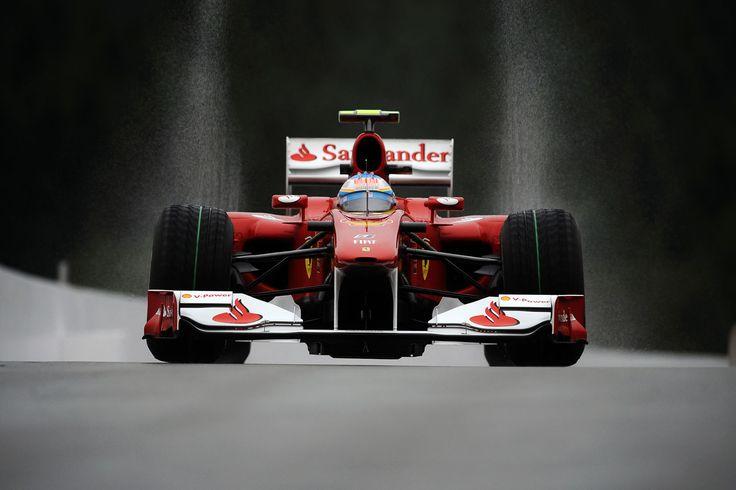 2010 Belgian GP - Fernando Alonso - Ferrari F10 [1680x1120]