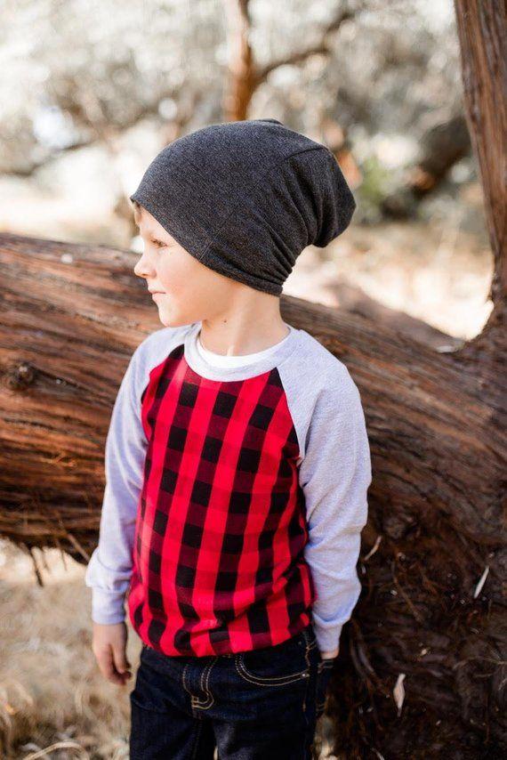 Christmas buffalo plaid baby shirt - buffalo plaid baby - lumberjack