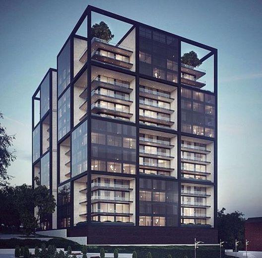 Best Modern Apartment Architecture Design 43