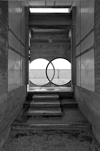 Tomba brion cemetery san vito d 39 altivole italy 1969 78 - Carlo scarpa architecture and design ...