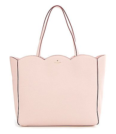 kate spade new york Leewood Place Collection Rainn Scalloped Tote #Dillards
