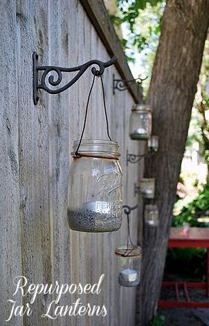 mason jar lanterns. . .perhaps for a certain prom birthday ;)