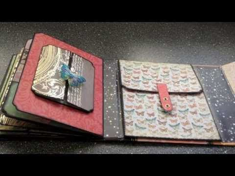 "Mariposa keepsake album deluxe ""Butterflies & Stars"" - YouTube"
