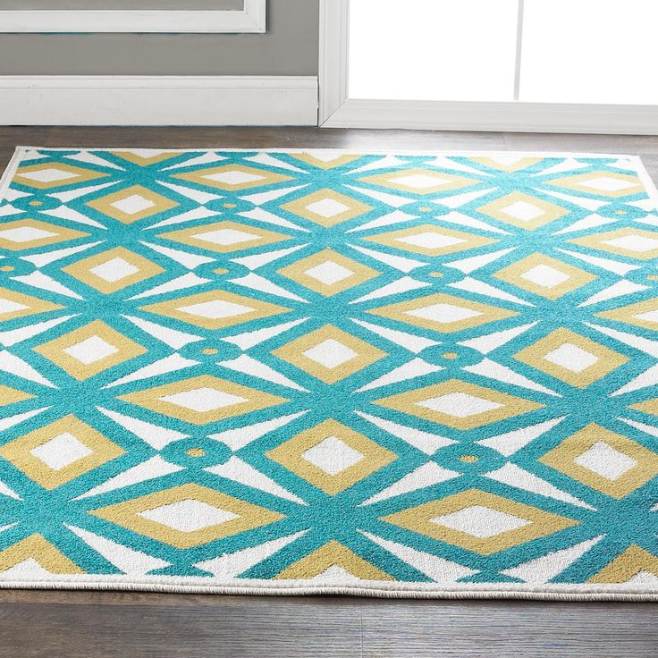 Florida Gray Turquoise Area Rug: 1000+ Images About Teal And Grey Rugs On Pinterest