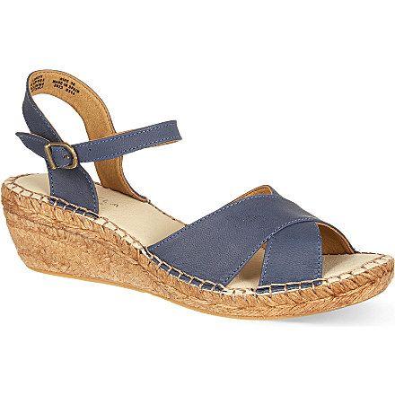 CARVELA Kandy wedge sandals (Navy