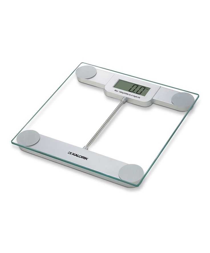 Clear Electronic Scale