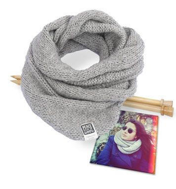 7 snoods faciles à faire - Peace and Wool