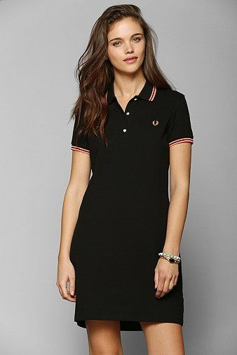 Fred Perry Polo Shirt Dress
