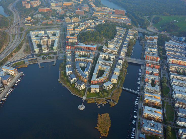 12 Best Hammarby Sjostad Eco District Stockholm Sweden
