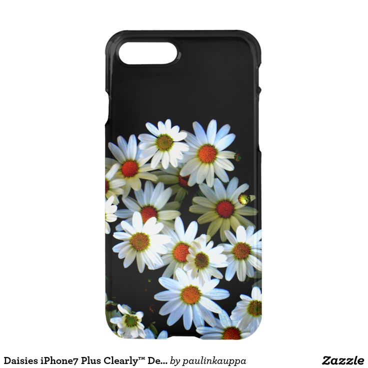 Daisies iPhone7 Plus Clearly™ Deflector case