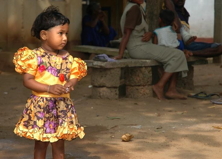 Sri Lanka, refugee camp 2004.