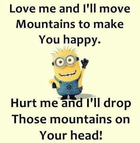 Yeah.... I'm not nice if you hurt me... Yup