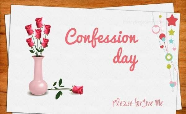 Happy Confession Day 2018 Check Confession Day Images Messages