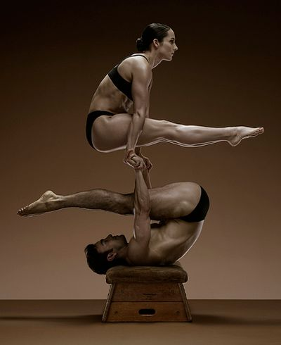 Acrobatic stunt