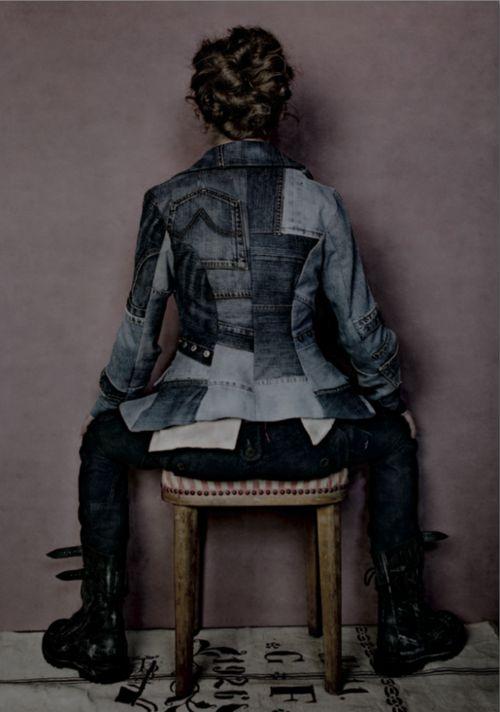 По кусочку соберу (подборка) / Дизайнеры / Модный сайт о стильной переделке одежды и интерьера
