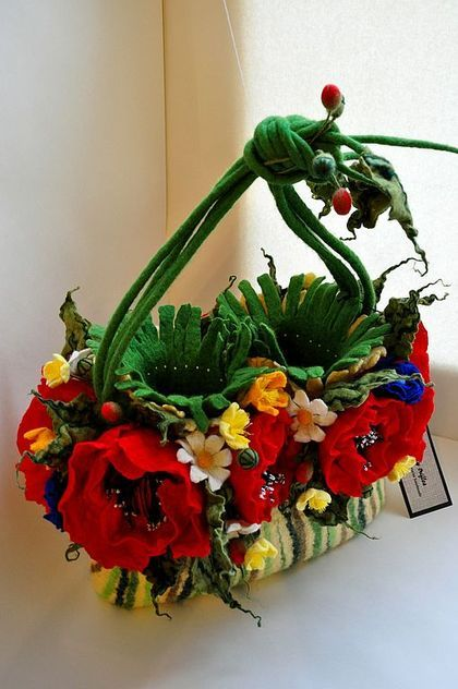 """Meadow Flowers"" - Casual, Handbags, Bags and Accessories. Fair Masters - handmade,"