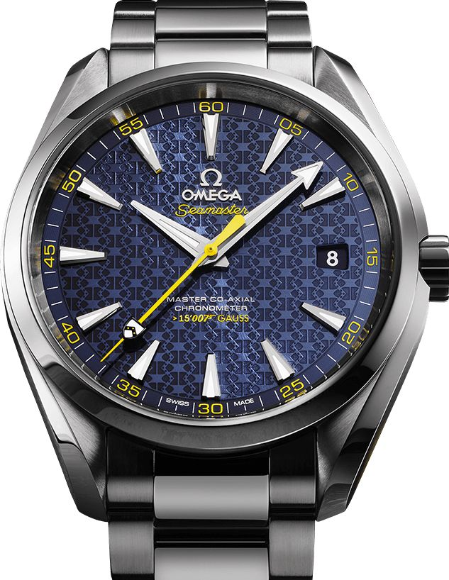 OMEGA Watches: Seamaster Aqua Terra James Bond Limited Edition