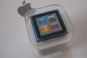 6th gen Ipod nano blue (8GB)