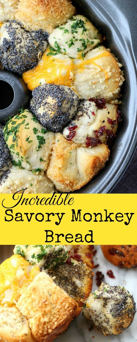 Incredible Savory Monkey Bread