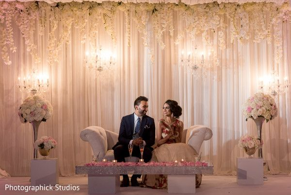 Dreamy White And Baby Pink Indian Wedding Stage Http Www Maharaniweddings Com Gallery P Wedding Stage Decorations Indian Wedding Stage Wedding Stage Backdrop