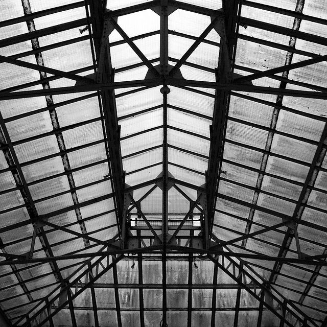 Steel Truss and Glass Roof