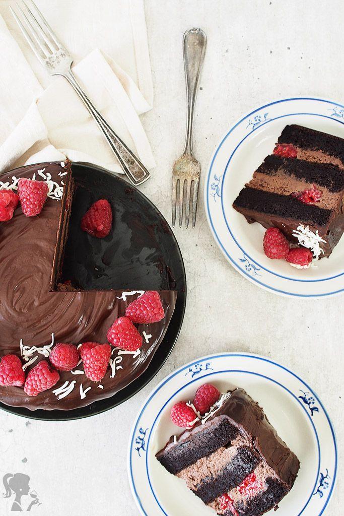 Jednoduchá čokoládová torta / easy chocolate cake