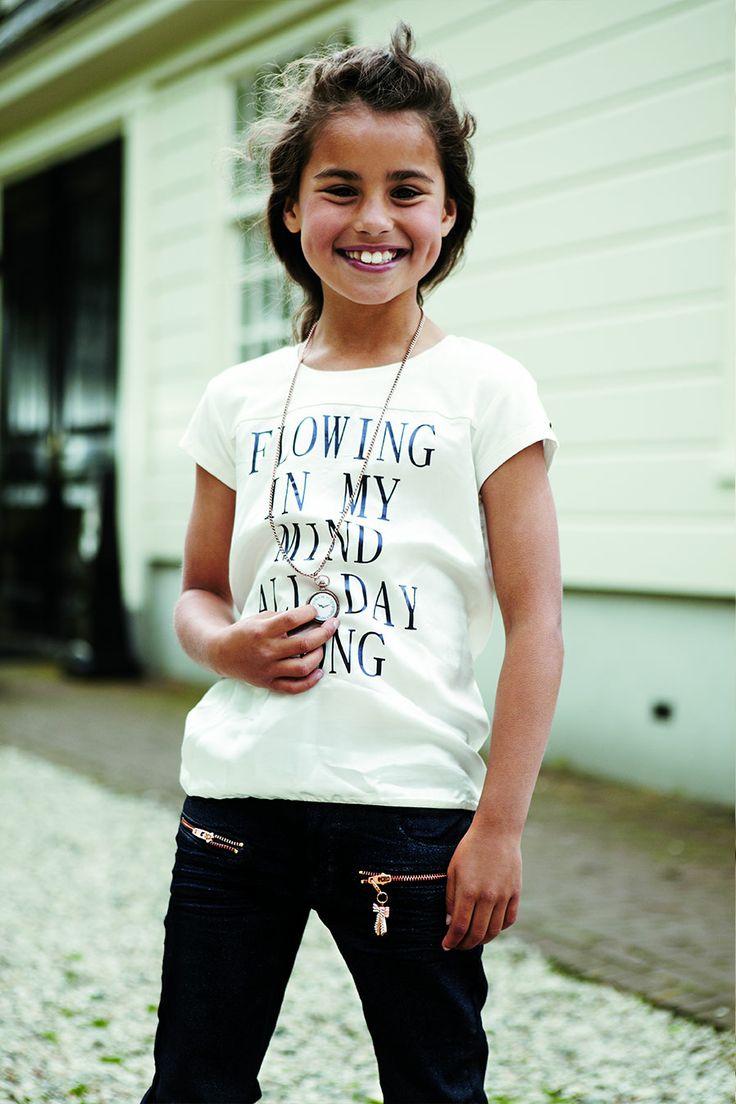 Kidsfashion | Baker Bridge Meisjes Shirt | Flowing in my mind all day long | www.kienk.nl